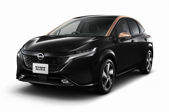 日産自動車が今秋に発売することを発表した新型プレミアムコンパクトカー『ノート オーラ』の画像