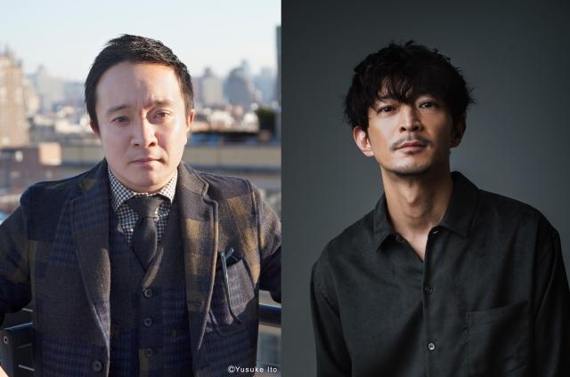 NHK・BSPドラマ×マンガ『特攻兵の幸福食堂』に出演する(左から)濱田岳、津田健次郎の画像
