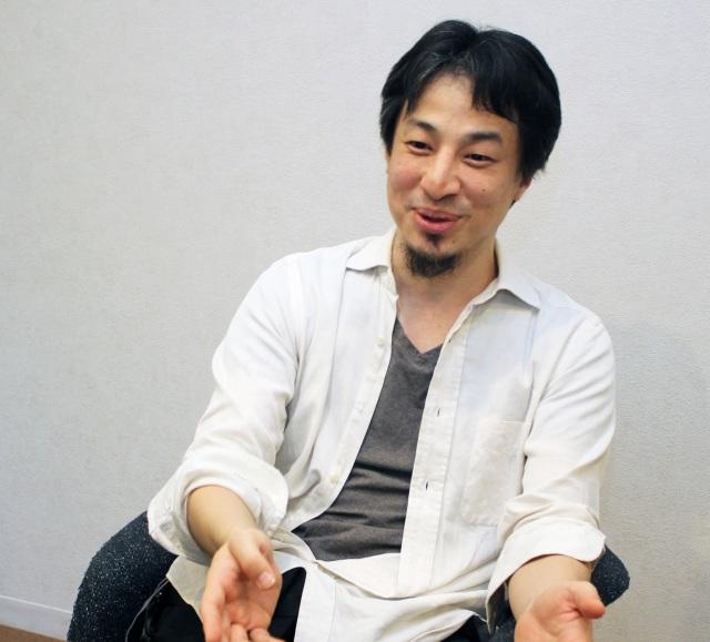 切り抜き動画の再生数が話題、ひろゆき氏 (C)oricon ME inc.の画像