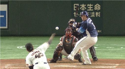 巨人×広島は「新技術スペシャルナイター」を放送 (C)日本テレビの画像
