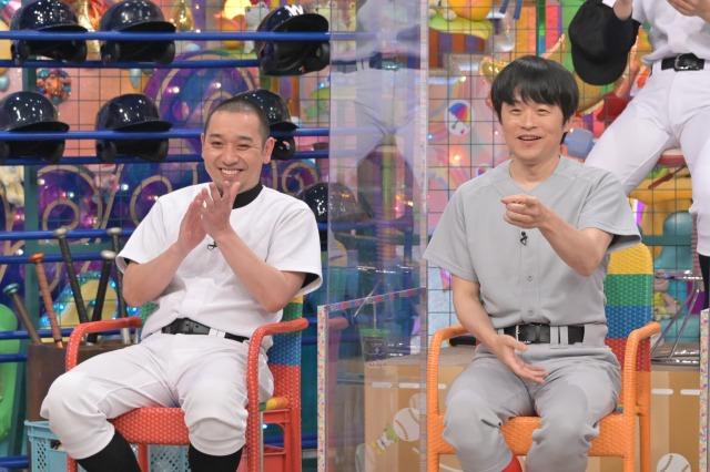 『元野球部芸人』に登場する(左から)大悟、バカリズム(C)テレビ朝日の画像