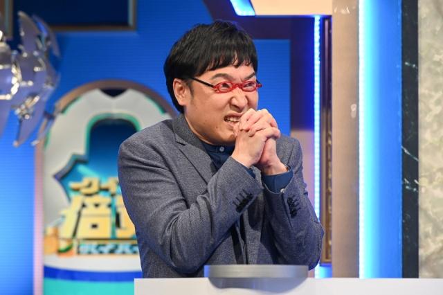 『クイズ!倍買』に出演した南海キャンディーズ・山里亮太 (C)TBSの画像