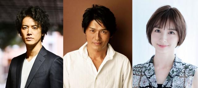 『7.2 新しい別の窓#40』に出演する(左から)桐谷健太、高橋克典、篠田麻里子の画像