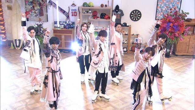 10日放送『第9回明石家紅白!』に出演するKis-My-Ft2 (C)NHKの画像