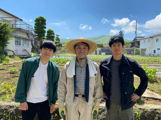 『ボイスII 110緊急指令室』第1話に出演する増田貴久、関智一、唐沢寿明 (C)日本テレビの画像