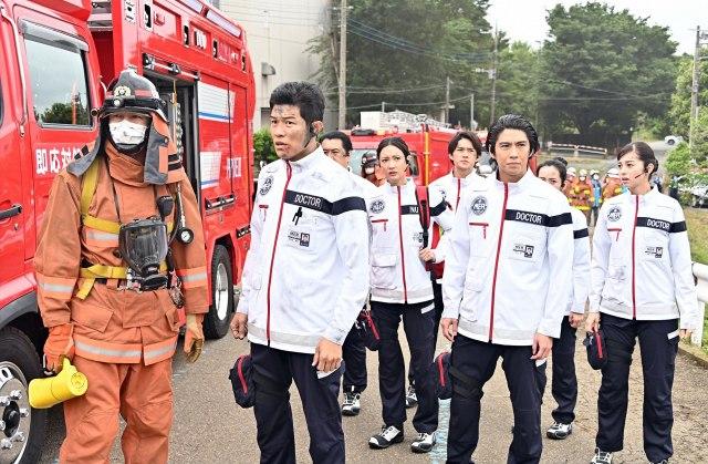 『TOKYO MER~走る緊急救命室~』第1話の場面カット (C)TBSの画像