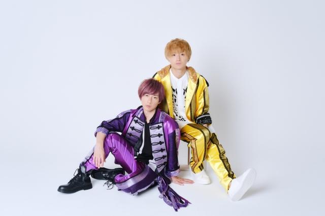 『えだりょ』として活動することが決定した(左から)江田剛、山本亮太の画像