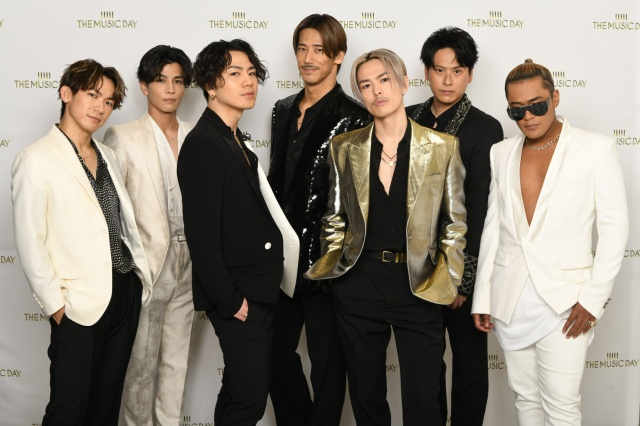 『THE MUSIC DAY』に出演した三代目 J SOUL BROTHERS from EXILE TRIBE(C)日本テレビの画像