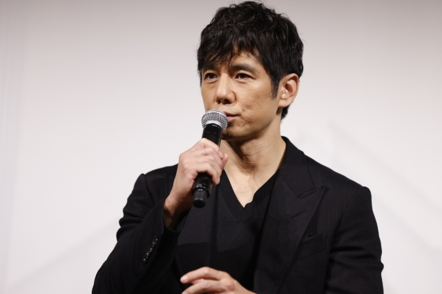 『ドライブ・マイ・カー』カンヌ映画祭壮行会イベントに参加した西島秀俊 (C)2021 『ドライブ・マイ・カー』製作委員会の画像