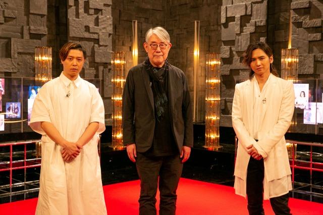 『NHK MUSIC SPECIAL松本隆50年~時代と人をつないだ作詞家~』で松本隆氏とKinKi Kidsがトーク(C)NHKの画像