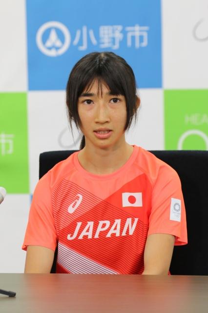 東京オリンピックへの意気込みを語った田中希実選手の画像