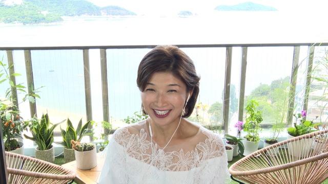 7日放送の『今夜くらべてみました 美女の七夕祭り2時間スペシャル』に出演する青山祐子さん(C)日本テレビの画像