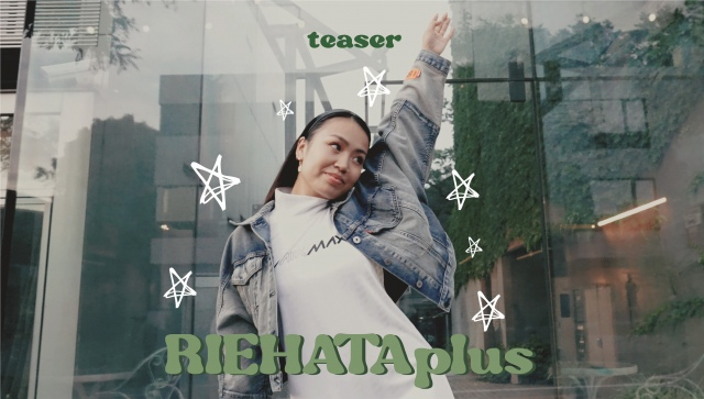 YouTubeチャンネル『RIEHATAplus』をスタートさせるRIEHATAの画像