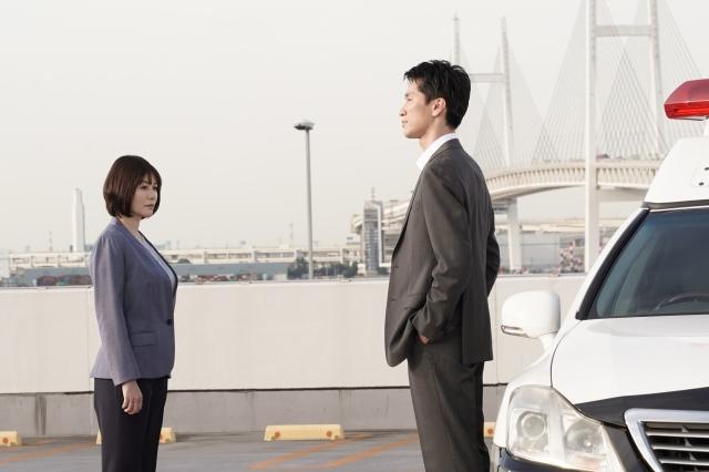 『ボイスII 110緊急指令室』に出演する真木よう子、増田昇太 (C)日本テレビの画像