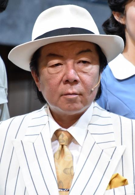 ミュージカル『衛生』リズム&バキュームの囲み取材に出席した古田新太(C)ORICON NewS inc.の画像