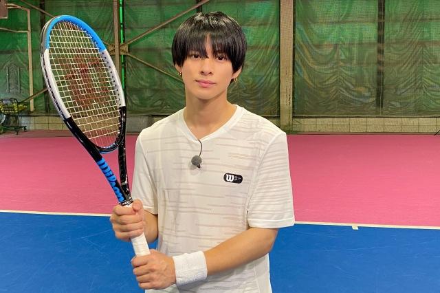 13日放送『King & Prince MEDAL RUSH』でKing & Princeの平野紫耀がテニスに挑戦 (C)日本テレビの画像