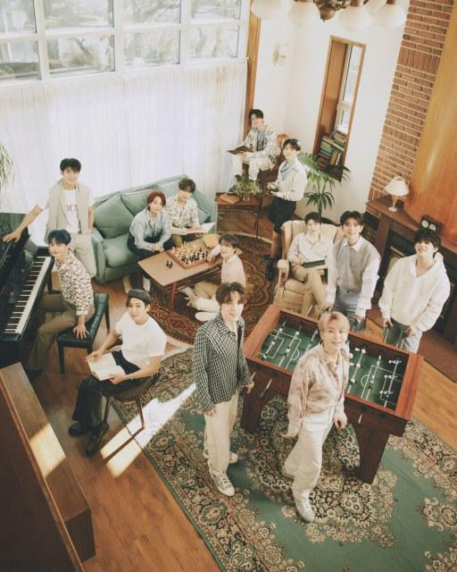 フジテレビ系『2021 FNS歌謡祭 夏』への出演が決定したSEVENTEEN (C)PLEDIS ENTERTAINMENTの画像