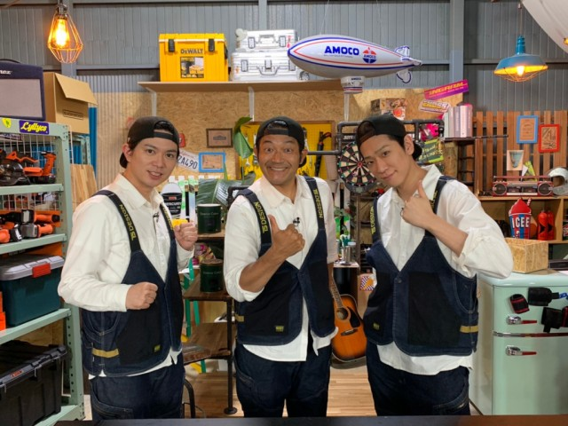『NEWSの全力!!メイキング』に出演する加藤シゲアキ、山口智充、小山慶一郎 (C)TBSの画像