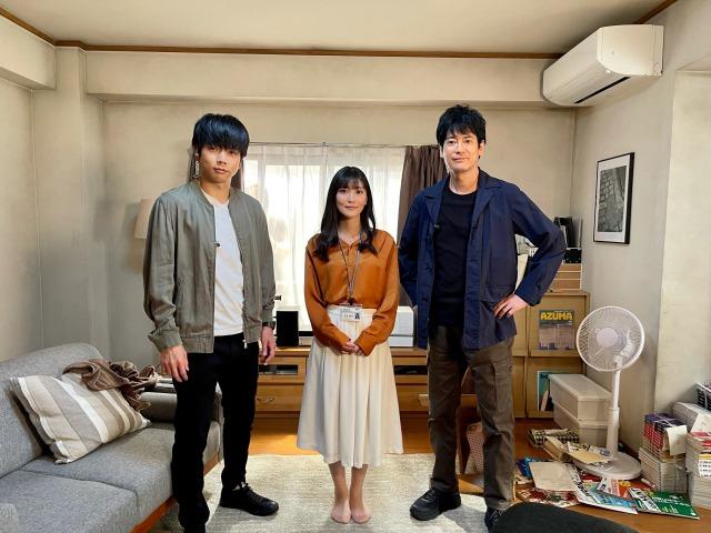『ボイスII 110緊急指令室』第2話に出演する増田貴久、古賀葵、唐沢寿明 (C)日本テレビの画像