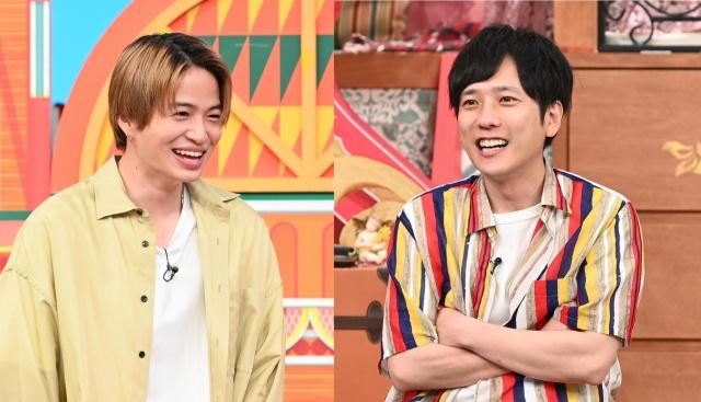11日放送『ニノさん』に出演するSexy Zoneの菊池風磨、嵐の二宮和也 (C)日本テレビの画像