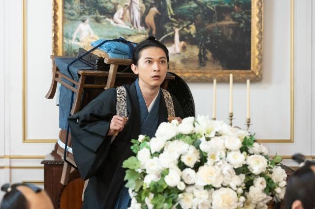 『青天を衝け』第22回「篤太夫、パリへ」より(C)NHKの画像