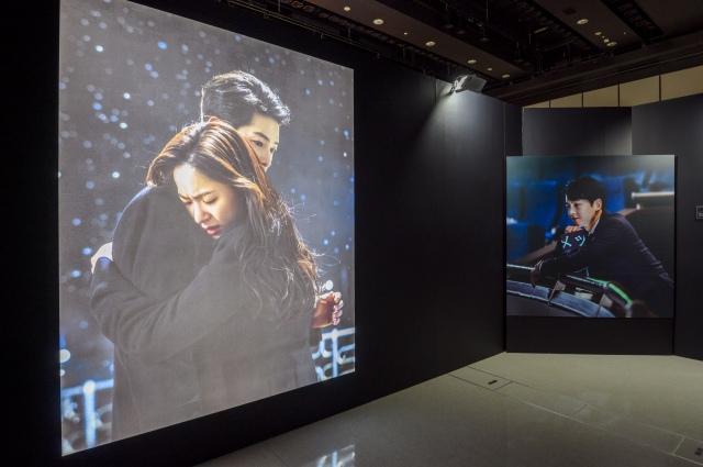 『スタジオドラゴン 韓ドラ展』の『ヴィンチェンツォ』エリアよりの画像