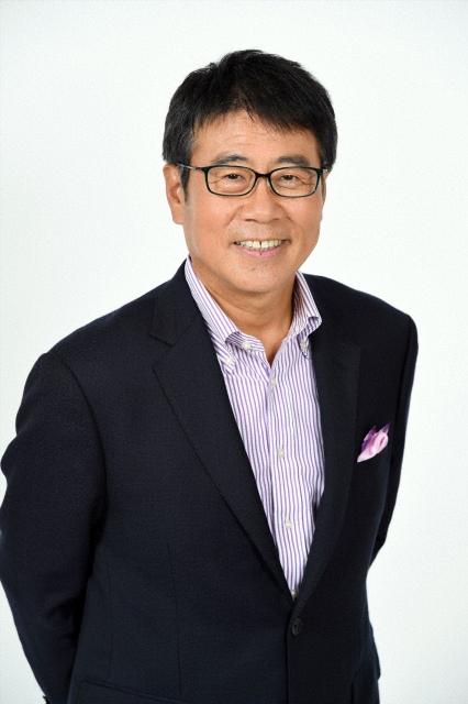 10月期から『報道ステーション』メインキャスターを務める元NHKの大越健介氏 (C)テレビ朝日の画像
