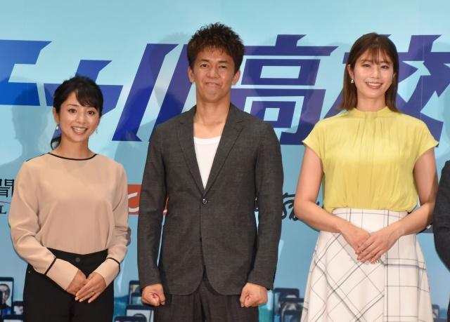 (左から)片岡安祐美、武井壮、稲村亜美 (C)ORICON NewS inc.の画像