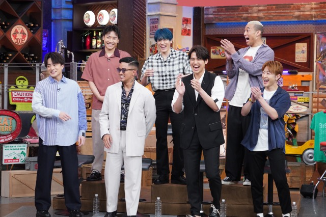 『ウチのガヤがすみません!』ゲストのGENERATIONS (C)日本テレビの画像