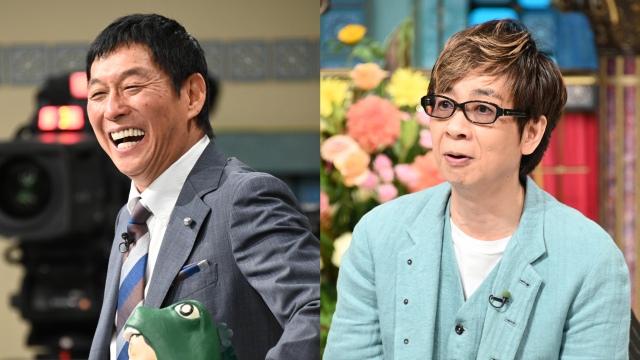 「踊る!さんま御殿!!」スペシャル番組の場面カット(左から)明石家さんま、山寺宏一 (C)日本テレビの画像