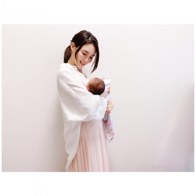 第2子出産を報告した押切もえの画像