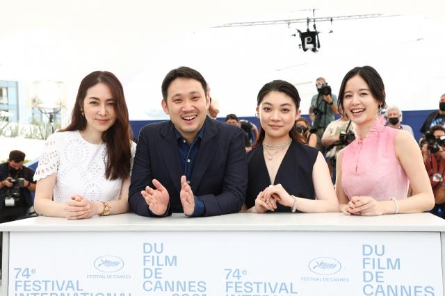 映画『ドライブ・マイ・カー』キャスト陣が『第74回カンヌ国際映画祭』フォトコールに登場(C)Kazuko WAKAYAMAの画像