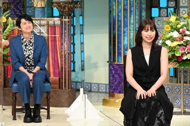 13日放送『踊る!さんま御殿!!』に出演する(左から)下野紘、玉井詩織 (C)日本テレビの画像