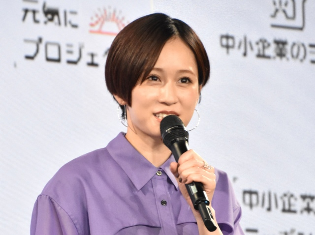 離婚後初公の場に登場した前田敦子 (C)ORICON NewS inc.の画像