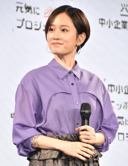 「ママチャリデビューしました」と語った前田敦子 (C)ORICON NewS inc.の画像