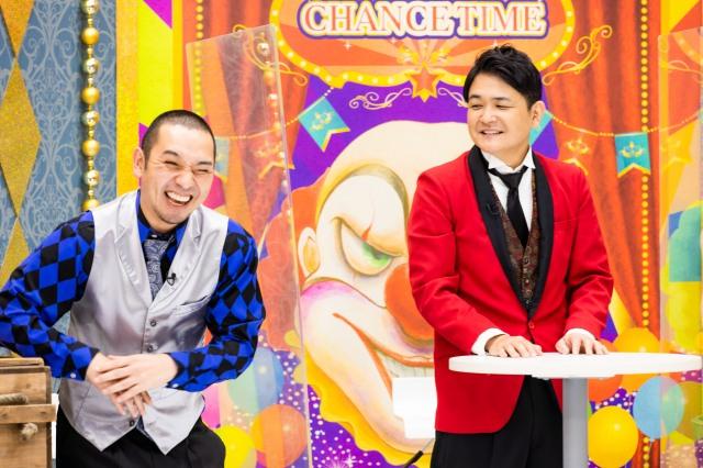 『チャンスの時間』に出演する千鳥(左から)大悟、ノブ(C)AbemaTV,Inc.の画像