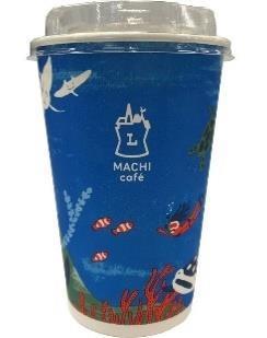 タンブラー持参により削減が期待される、ローソンのアイスコーヒー容器の画像