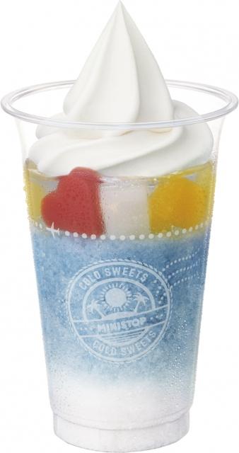 16日より新発売される「ハロハロ パチパチ夏ソーダ」(税込375円)の画像