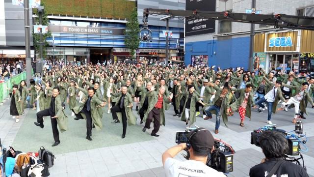 映画『唐人街探偵 東京MISSION』(公開中)エンディングのダンスシーン(メイキング)の画像