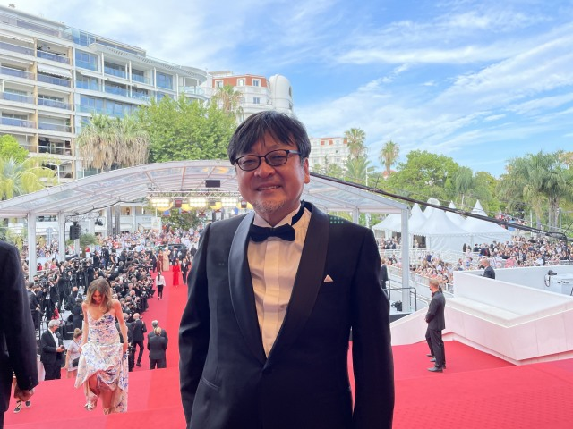 細田守監督=カンヌ国際映画祭 (C)2021 スタジオ地図の画像
