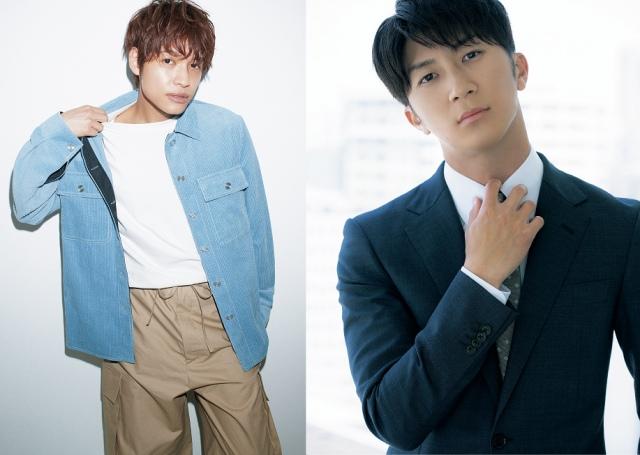 『Oggi』9月号に登場するジャニーズWEST(左から)中間淳太、濱田崇裕の画像