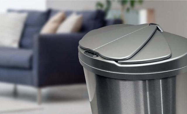 『MAXZEN(マクスゼン)』の『自動開閉ゴミ箱』(JG047MT01)の画像