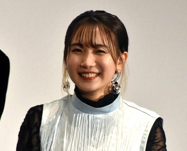 映画『竜とそばかすの姫』初日舞台あいさつに登壇した幾田りら (C)ORICON NewS inc.の画像