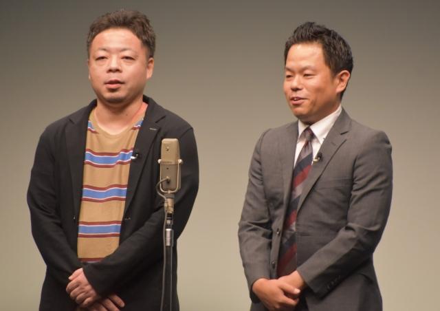 ダイアンの津田篤宏(右)の22年前の写真が話題に (C)ORICON NewS inc.の画像