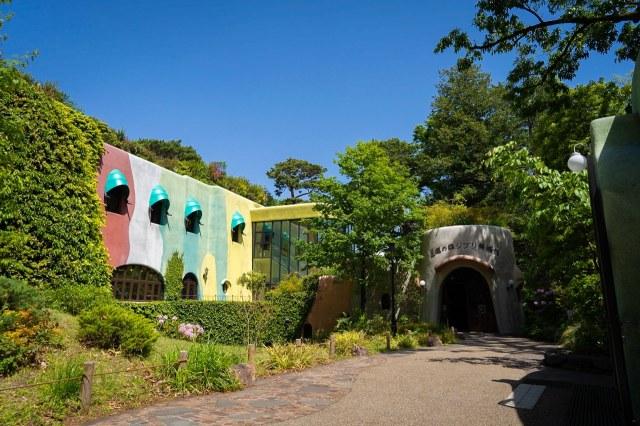 東京・三鷹の森ジブリ美術館の画像