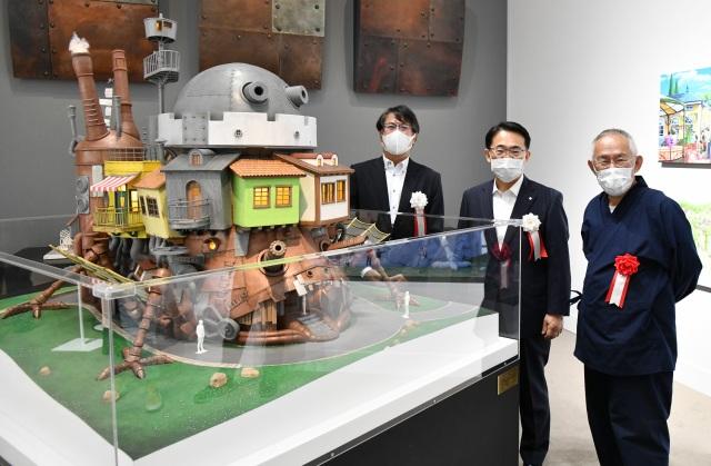 「ハウルの城」の建築模型が初公開=「ジブリの大博覧会~ジブリパーク、開園まであと1年。~」愛知県美術館で開幕(C)Studio Ghibliの画像