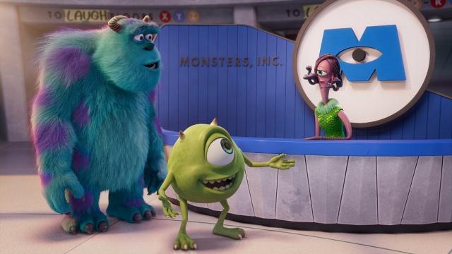 ディズニープラスで独占配信中『モンスターズ・ワーク』第1話より(C)2021 Disneyの画像