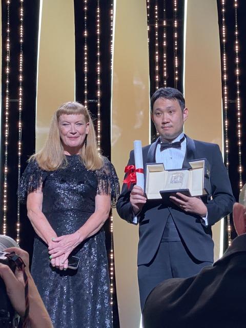 第74回カンヌ国際映画祭で脚本賞を受賞した『ドライブ・マイ・カー』濱口竜介監督(C) Kazuko WAKAYAMAの画像