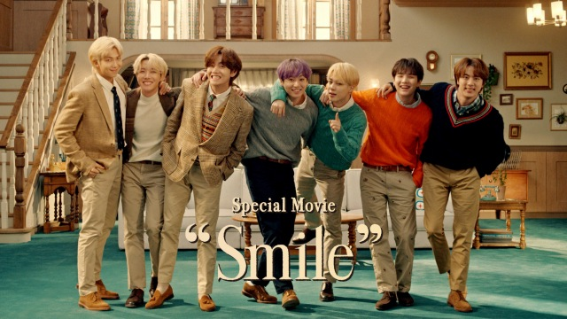 BTSがひとつ屋根の下に暮らす7人兄弟役に「XYLITOL×BTS Smile Special Movie」よりの画像