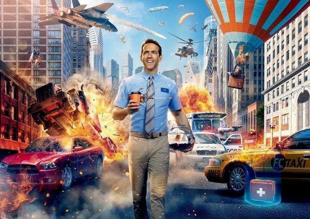 映画『フリー・ガイ』(8月13日公開)(C)2021 Twentieth Century Fox Film Corporation. All Rights Reserved.の画像
